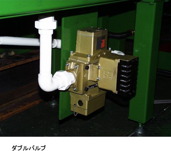 騒音対策と安全基準に基づくクラッチ用電磁弁01